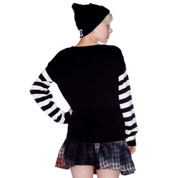 Kissy Face Knit Jumper