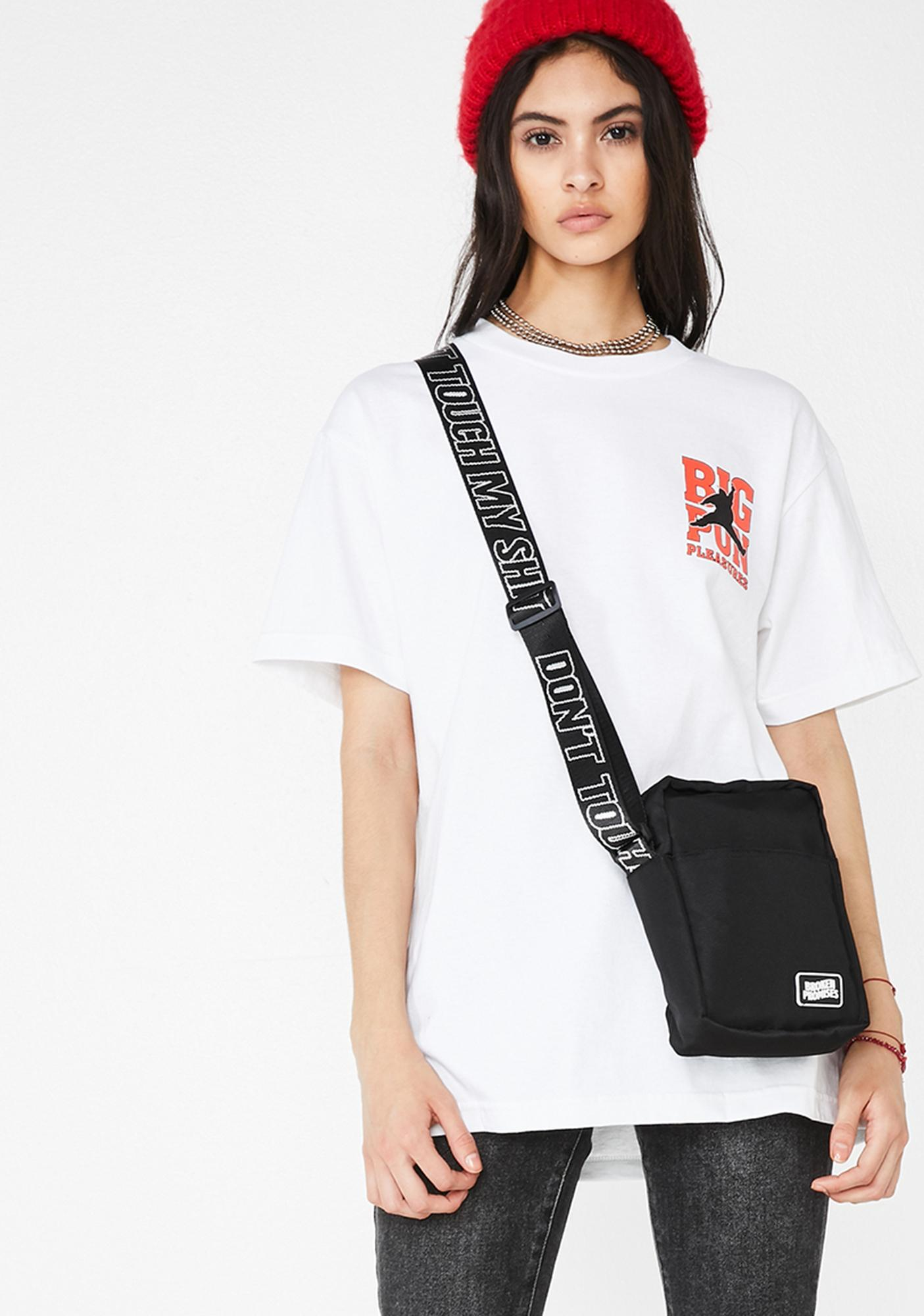 BROKEN PROMISES CO Don't Touch My Shit Side Bag