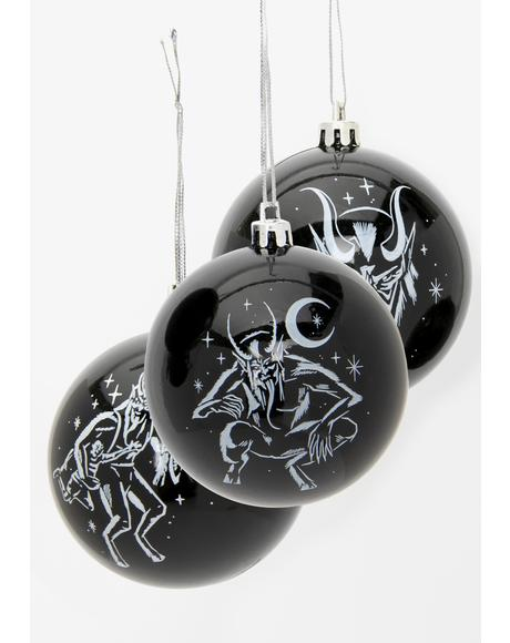 Krampus Hexmas Baubles