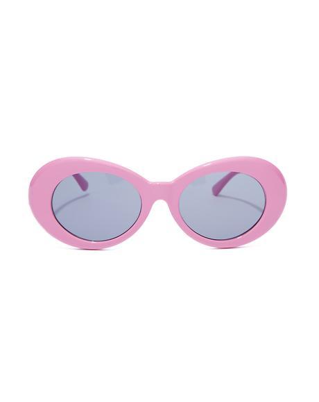 Bubblegum Nevermind Sunglasses