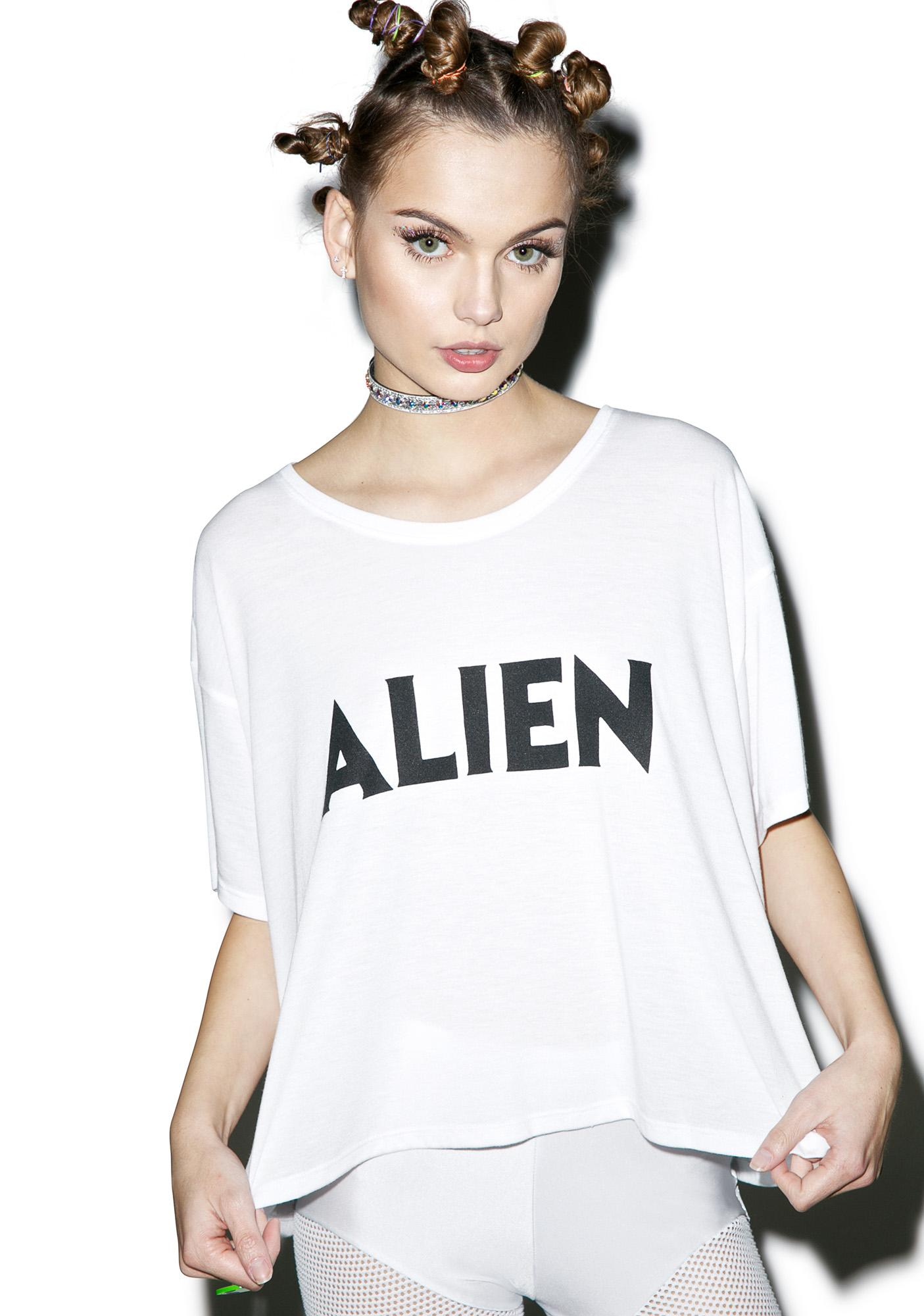 Burger And Friends Alien Tee