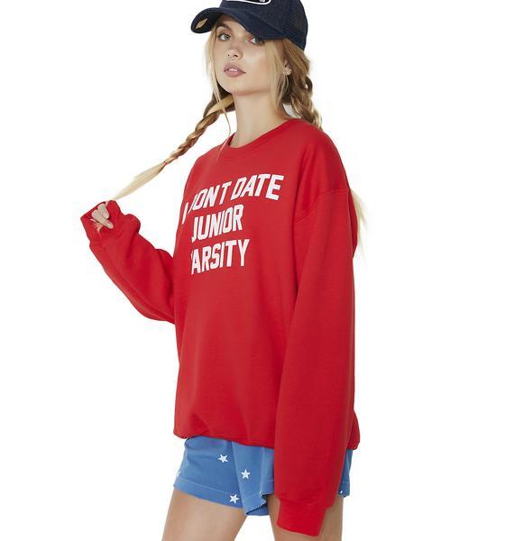 Burger And Friends Junior Varsity Sweatshirt