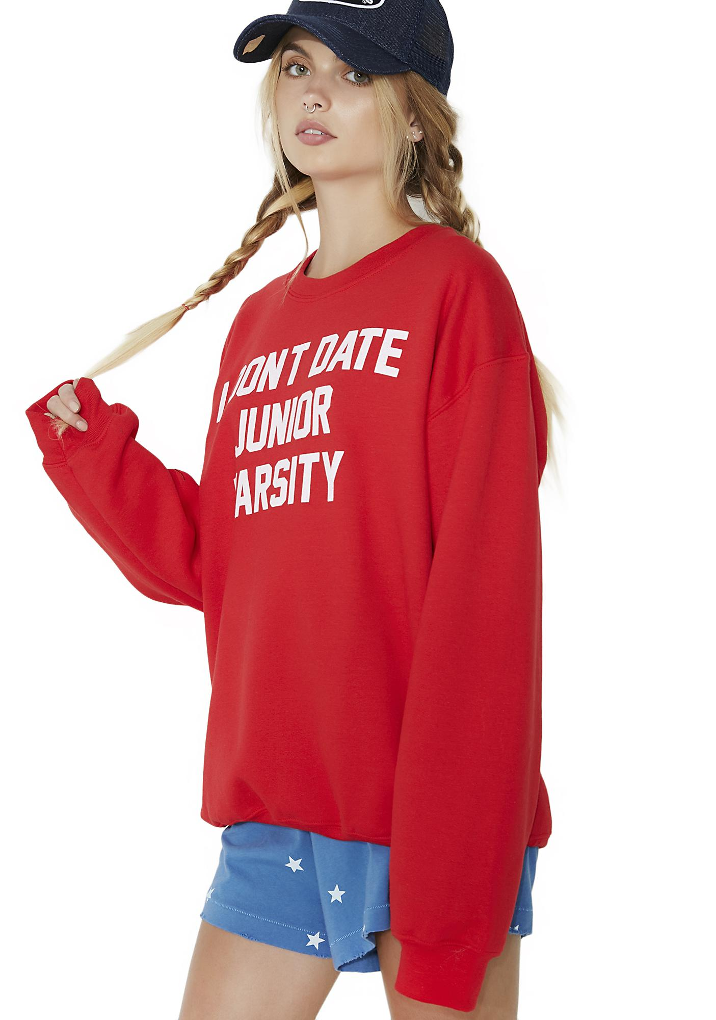 Burger And Friends Junior Varsity Sweatshirt