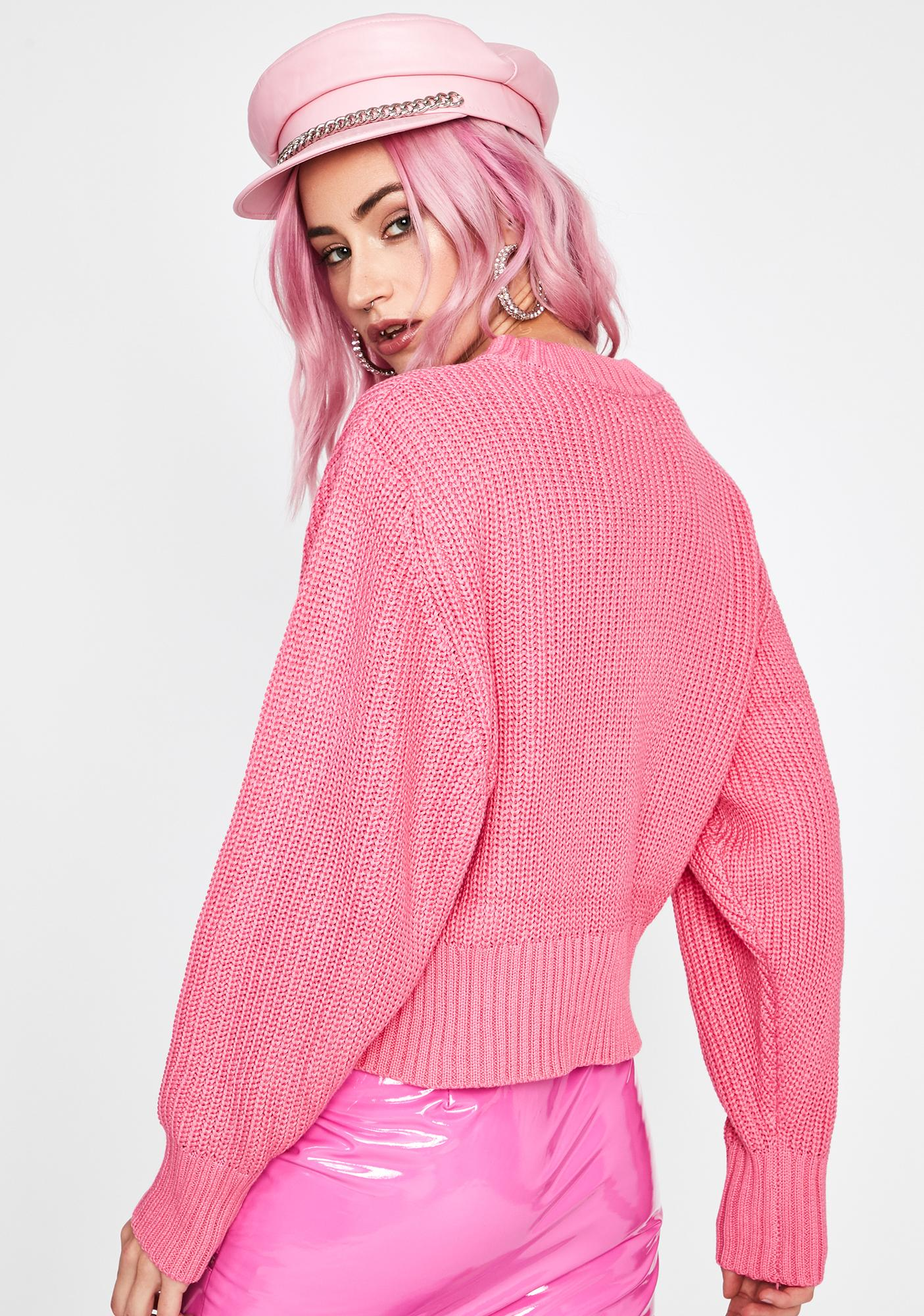 Pretty Practical Punk Knit Sweater