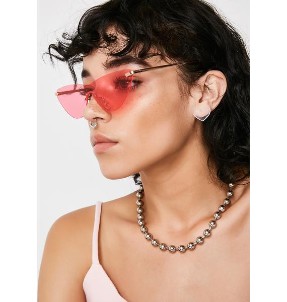 Feelin' Flirty Cat-Eye Sunglasses