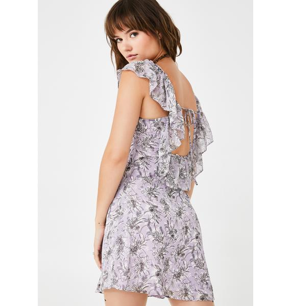 Finding Paradise Floral Dress