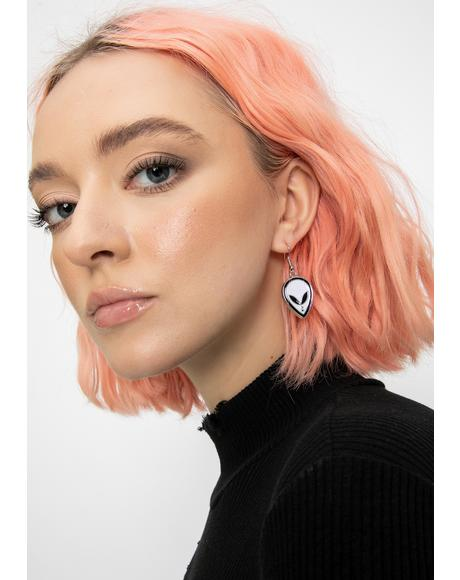 Space Covenant Alien Earrings