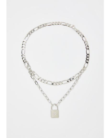 No Comparison Lock Necklace