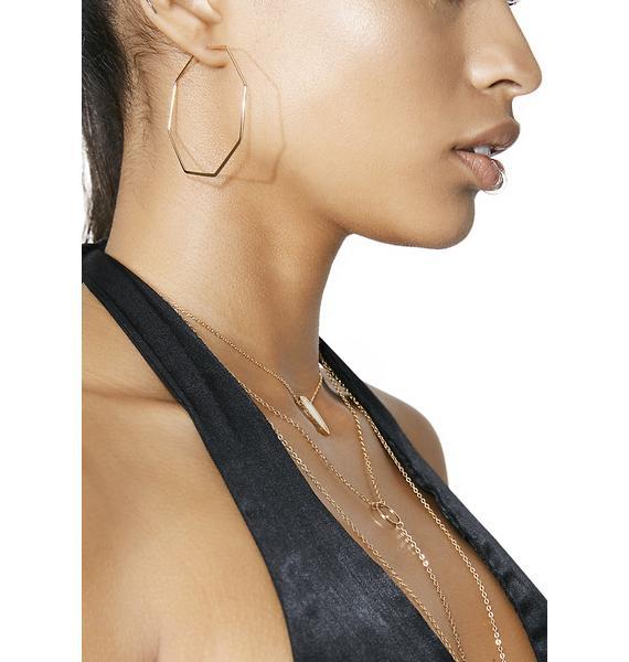 Theorem Hoop Earrings