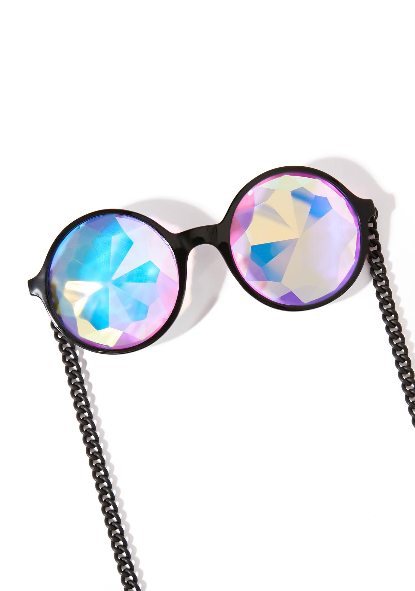 My Willows Mosaic Kaleidoscope Chain Glasses