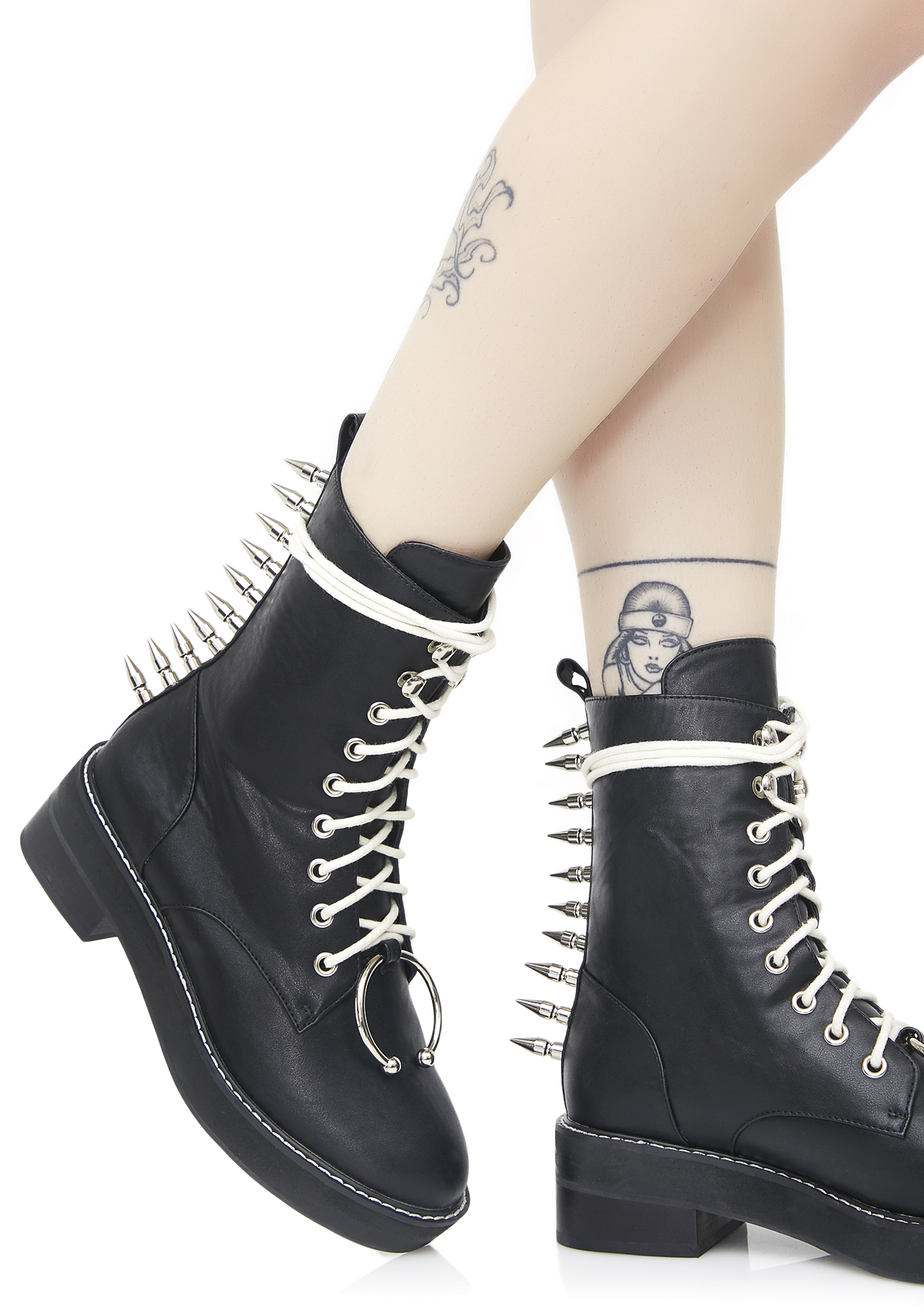 Current Mood Spikestrip Combat Boots