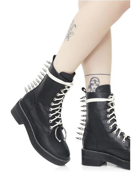 Spikestrip Combat Boots