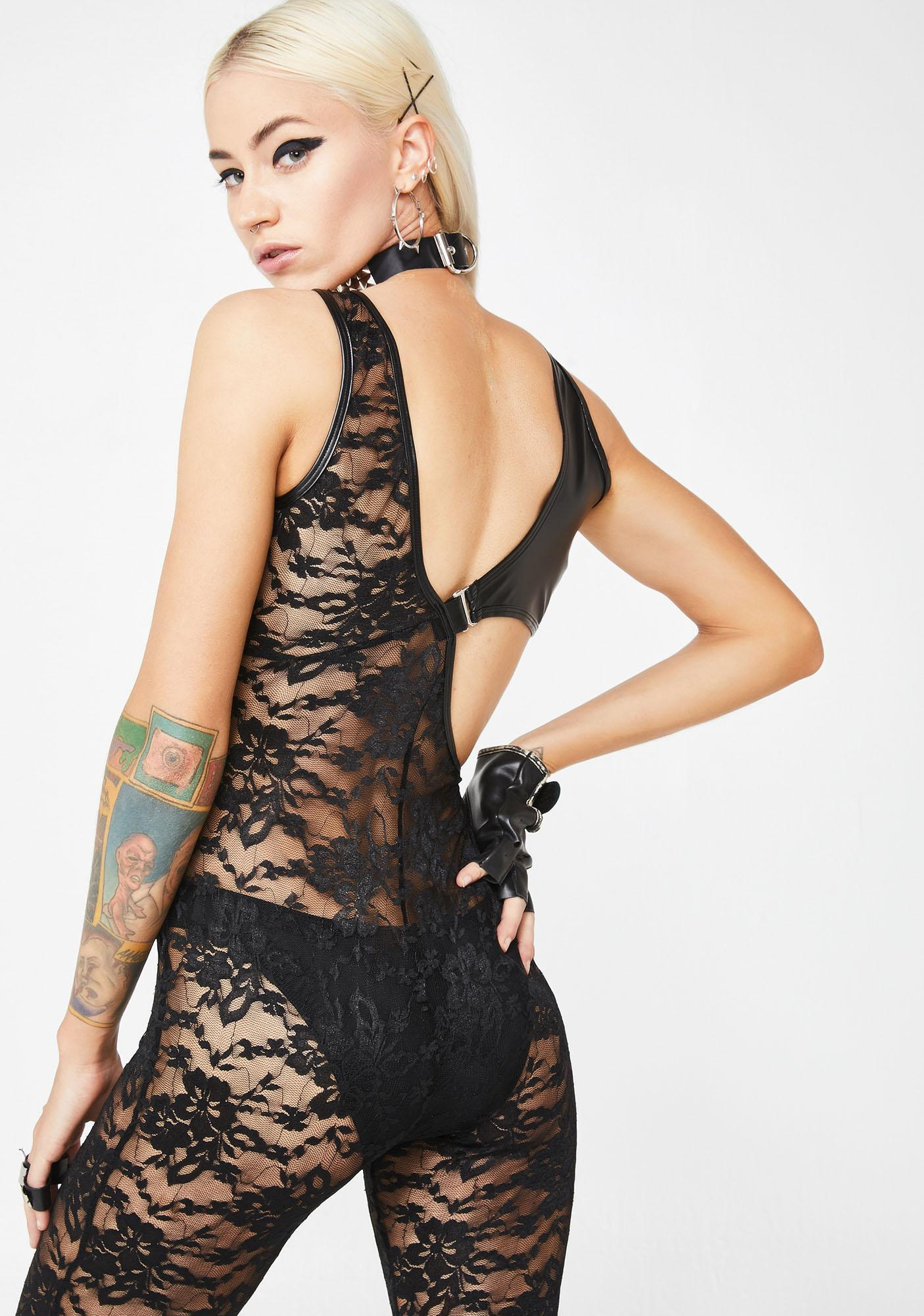 Seeing Double Lace Bodystocking