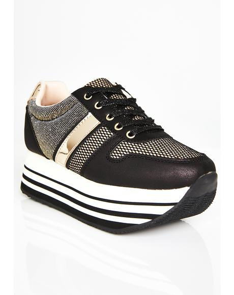 Keep Up Platform Sneakers