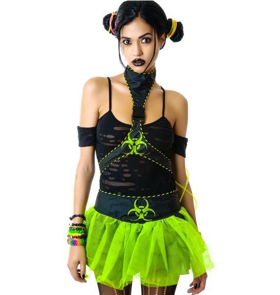 Lip Service Miss Cyanide Costume
