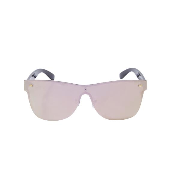 Pink Future Two Tone Sunnies