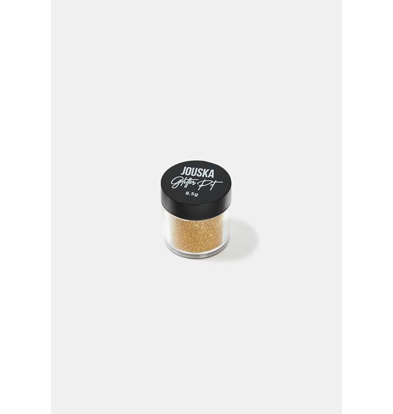 Jouska Cosmetics Marigold Glitter Pot