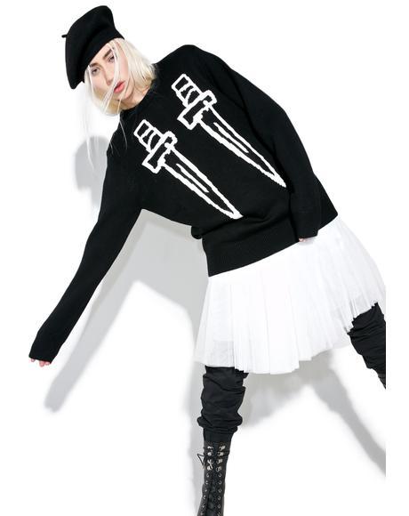 Dagger Sweater
