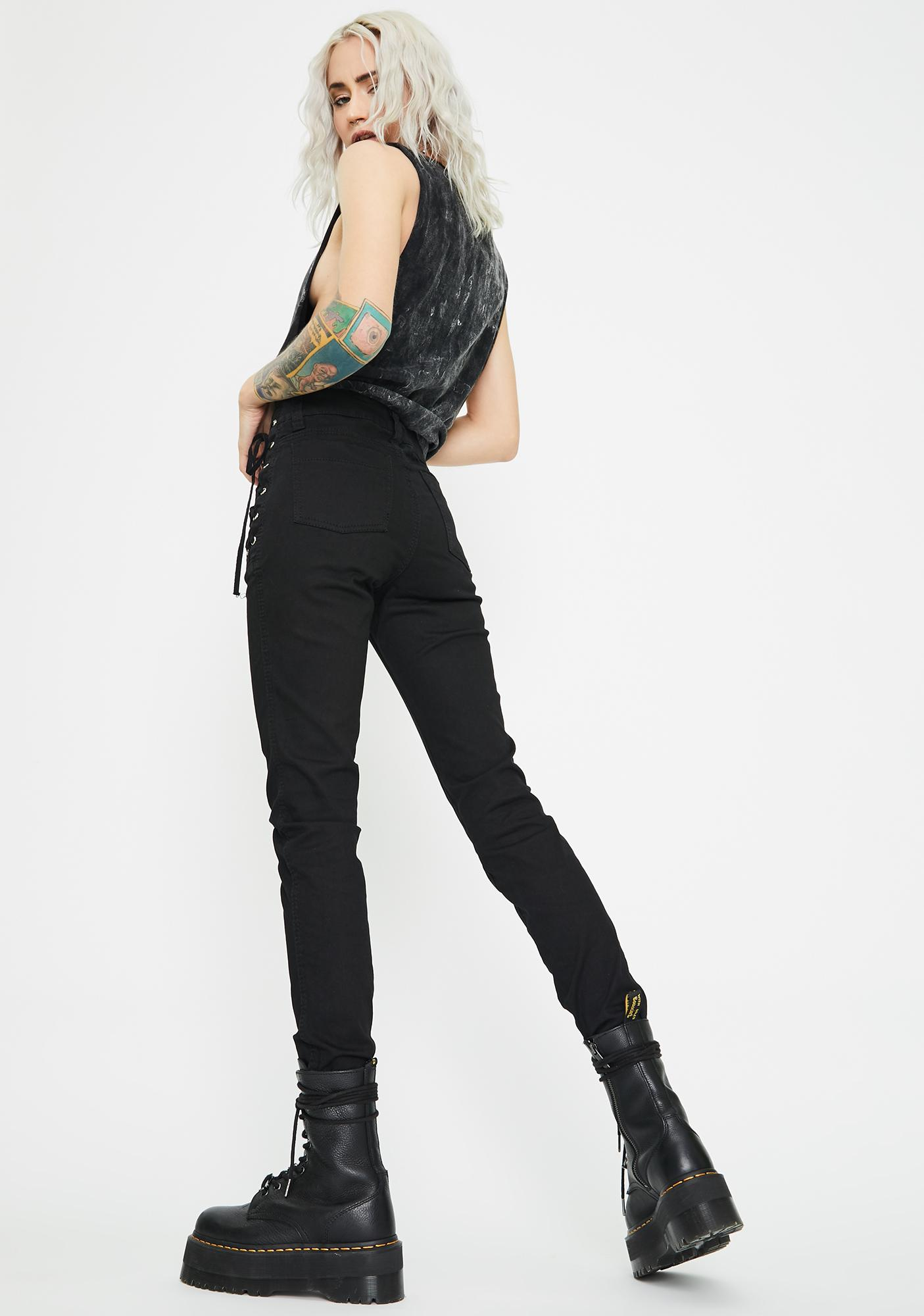 Tripp NYC Hip Side Lace-Up Pants