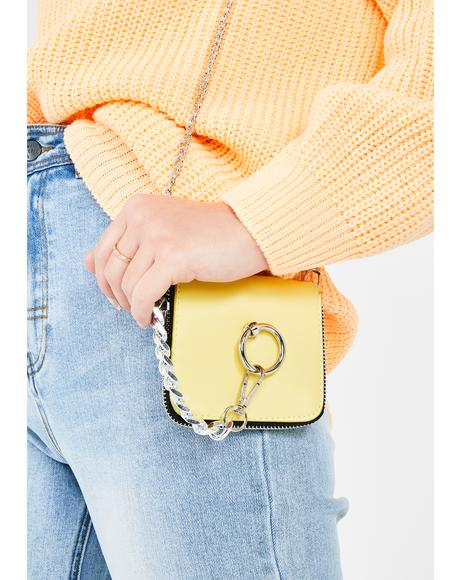 Mellow Ur Death Wish Chain Crossbody Bag