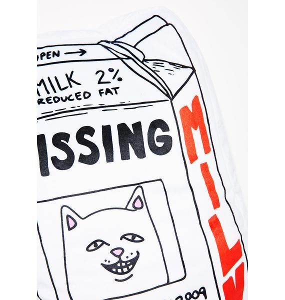 RIPNDIP Missing Milk Pillow