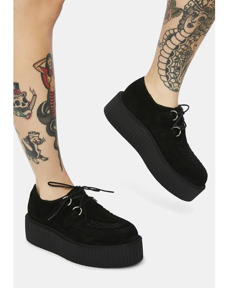 Ered Vegan Suede Creepers