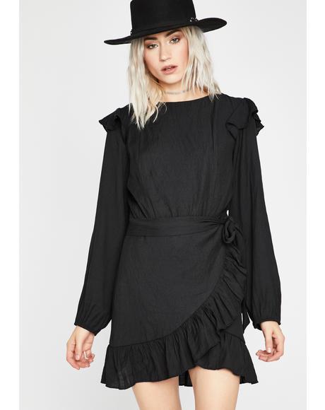Ruthless Radical Wrap Dress