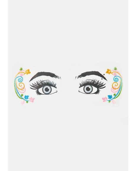 Mystic Pixie Glitter Eye Decals