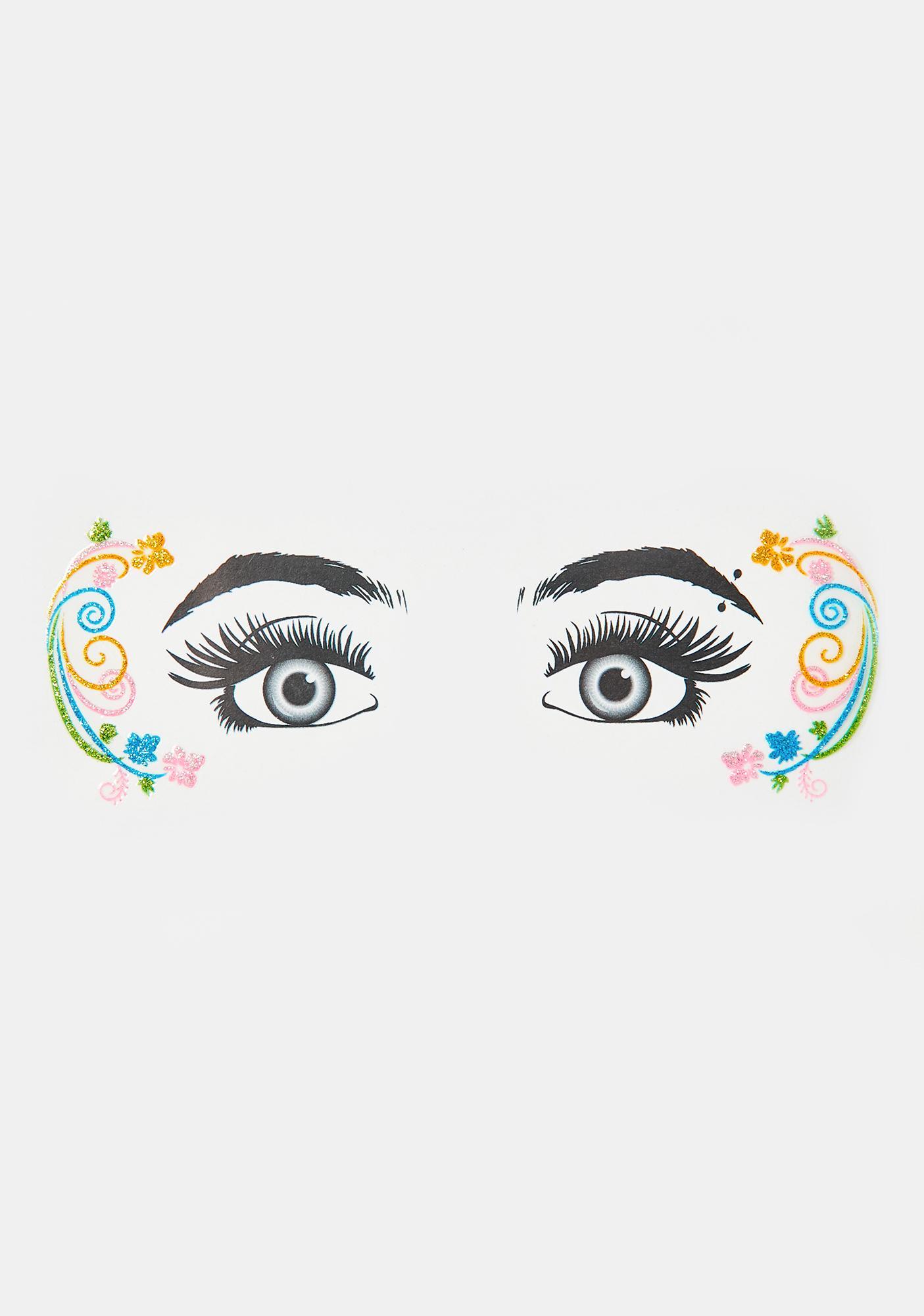 Mystic Pixie Glitter Eye Decals