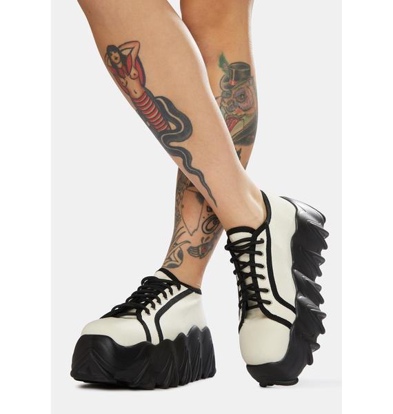 Lamoda White Easy Life Chunky Platform Sneakers