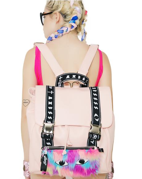 Cat's Eye Two-Way Snapback Backpack