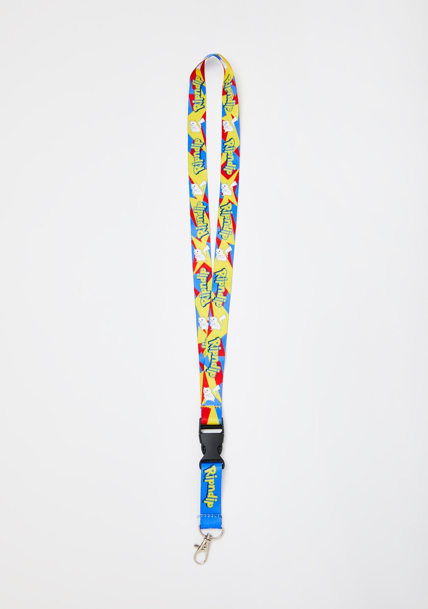 RIPNDIP Catch Em All Lanyard