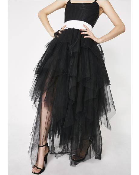 Dark Fantasies Layered Skirt