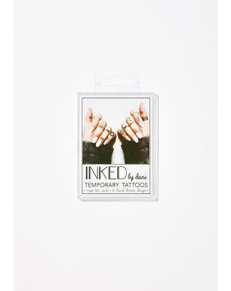 Finger Tats Pack