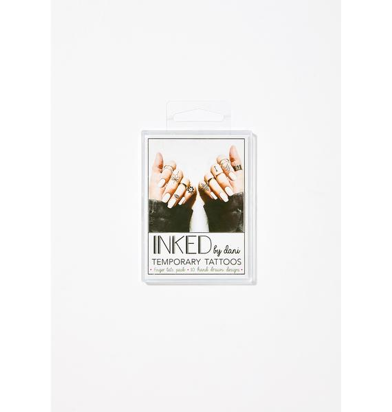 INKED by Dani Finger Tats Pack