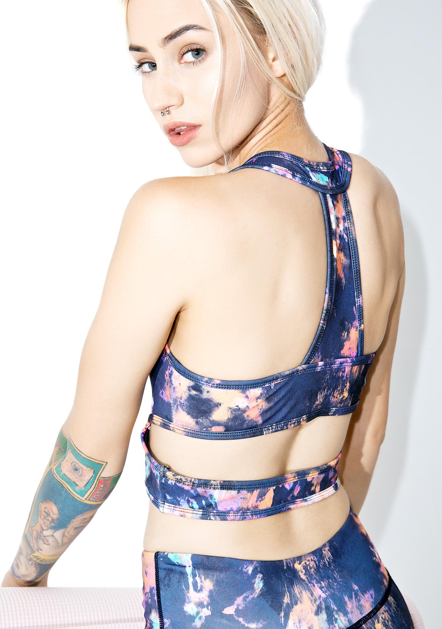 Galaxy Flow Sports Bra