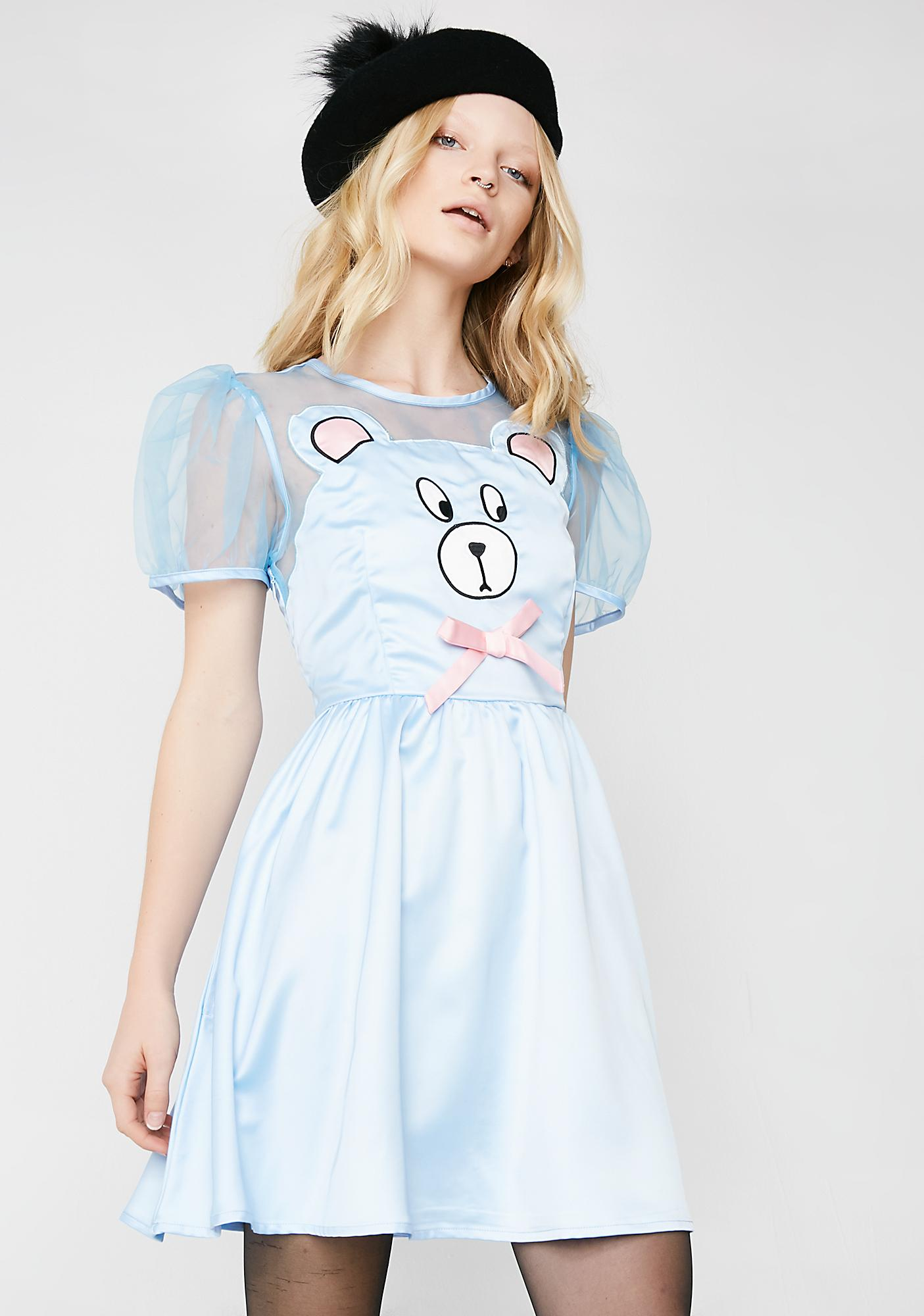 Lazy Oaf Bear Front Dress