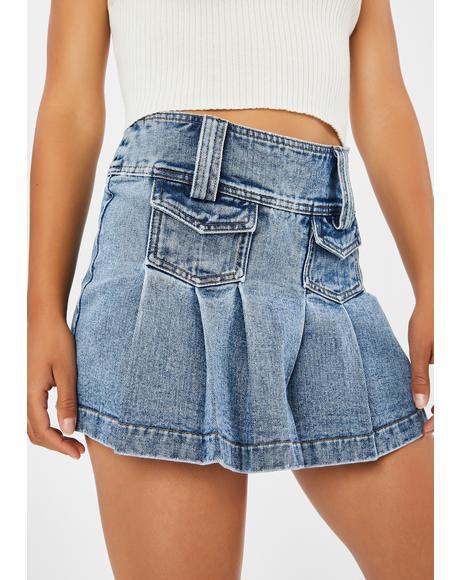 Trendsetter Pleated Skirt