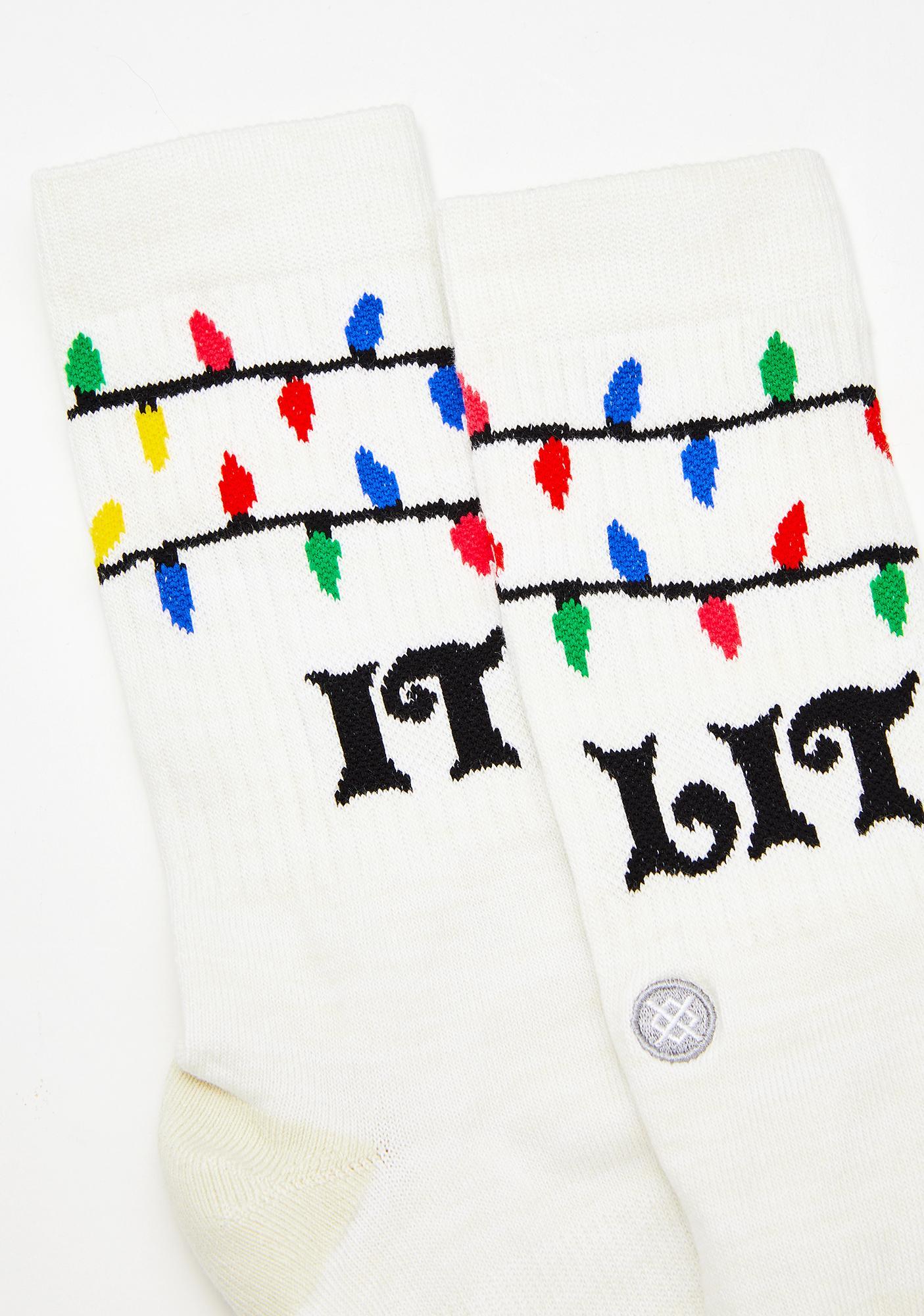Stance It's Snow Lit Crew Socks