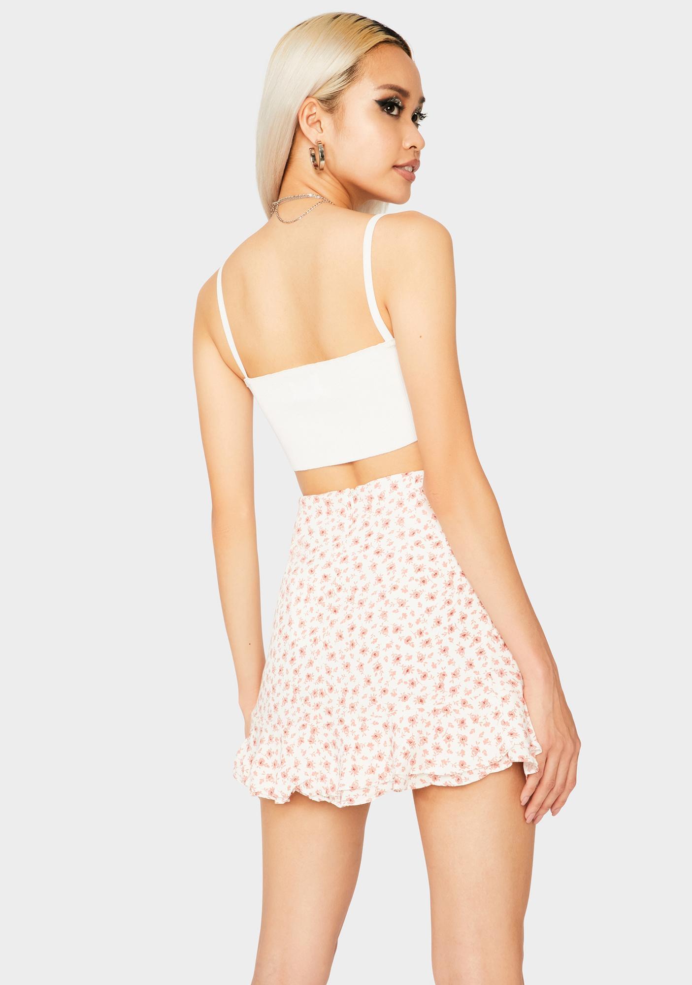 Love In Bloom Ruffle Skirt