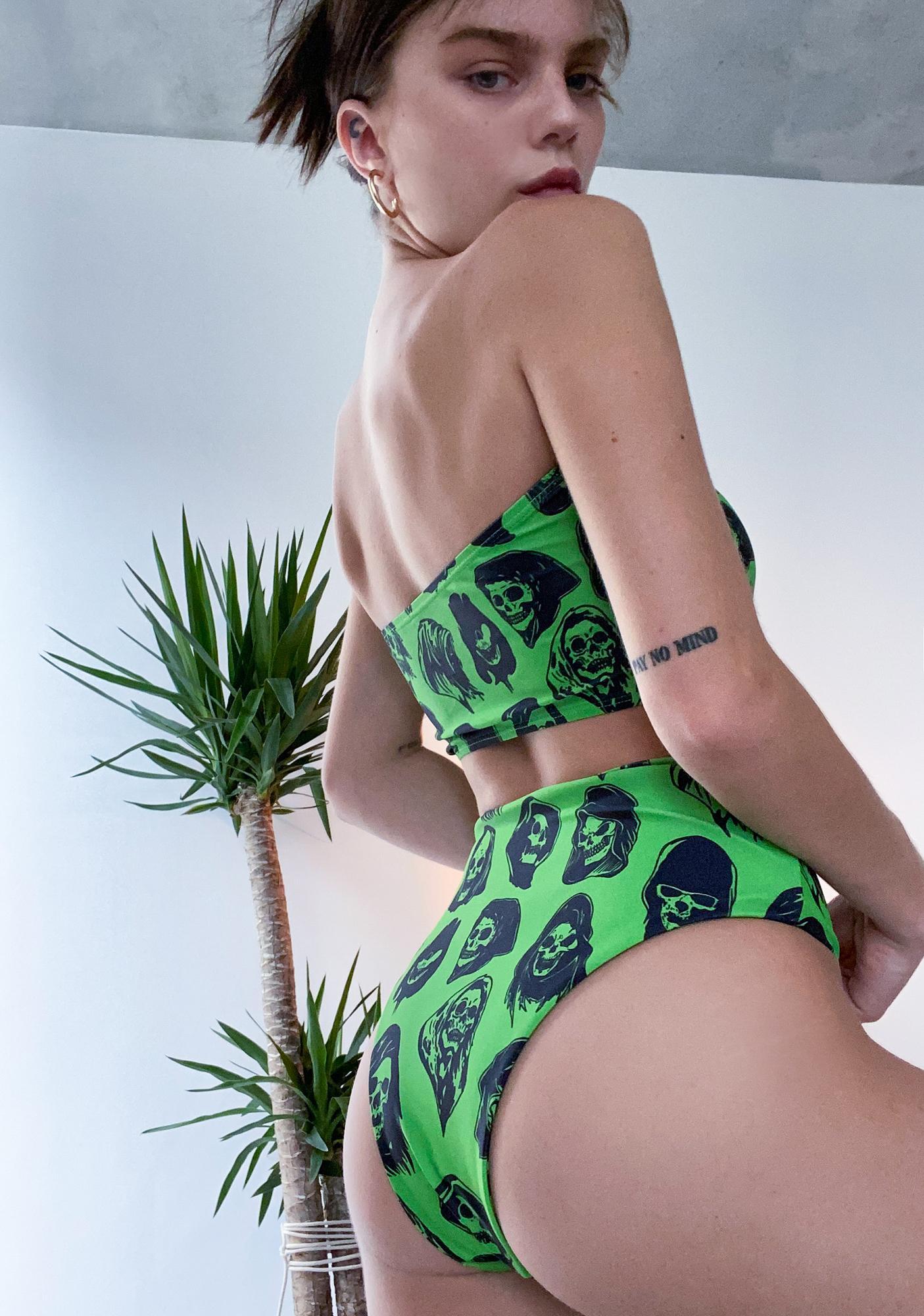 BROKEN PROMISES CO Reaper Guide Bikini Set