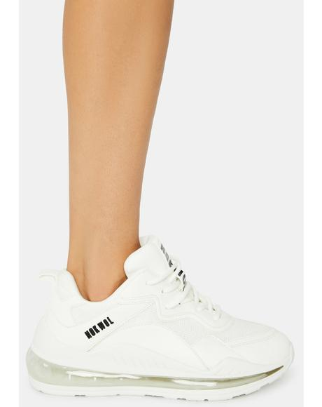 White Active Sneakers