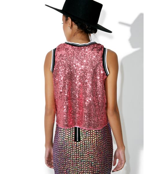 Gang's All Here Sequin Tank
