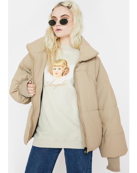 Angelic Graphic Sweatshirt
