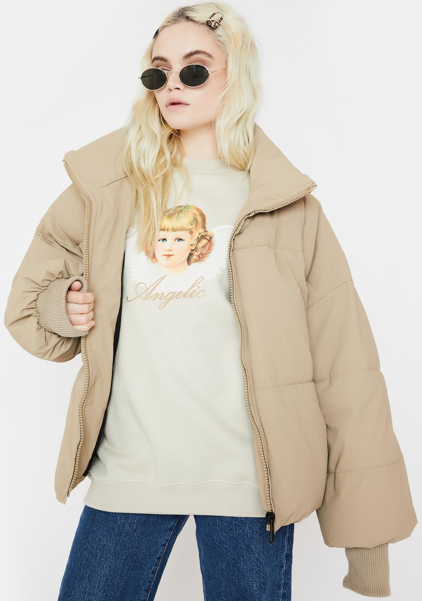 Minga Angelic Graphic Sweatshirt