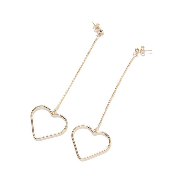 All You Need Is Love Drop Earrings