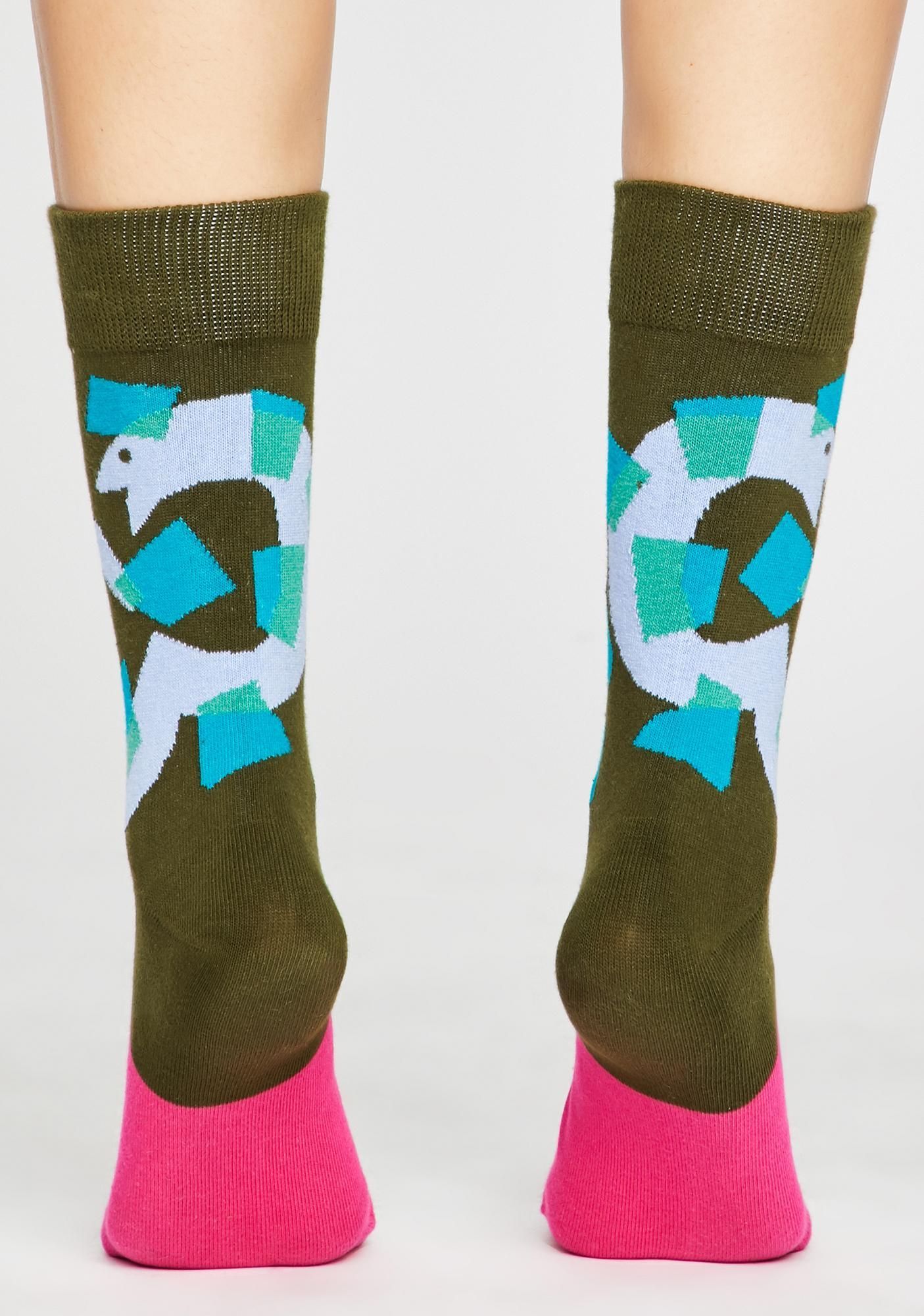 Slither N' Strut Snake Socks