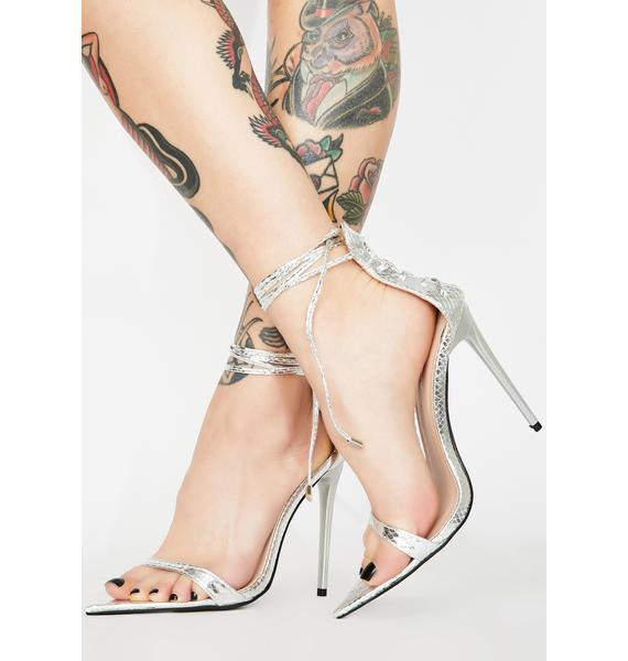 Public Desire Hypnotic Stiletto Heels