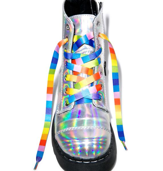 Taste The Rainbow Shoelaces