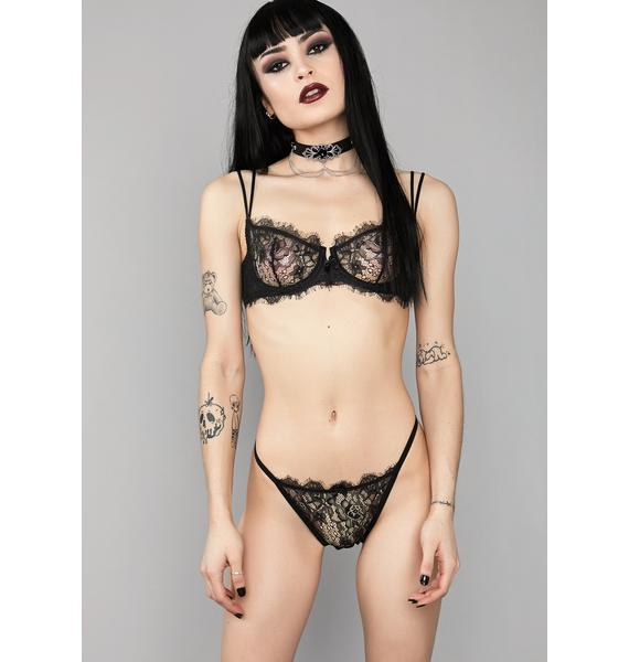 Widow Sweet Seclusion Lace Panties
